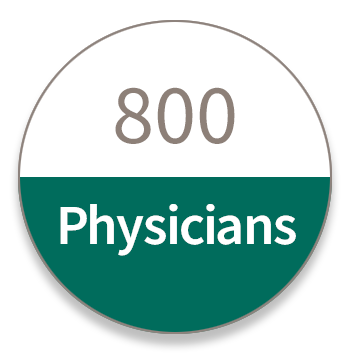 800 Physicians